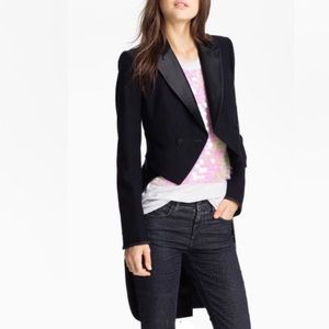 NWT RARE Juicy Couture tailored tuxedo jacket 6